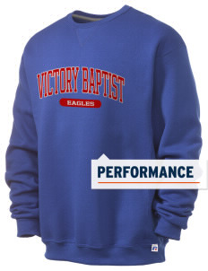 Victory Baptist Academy Eagles  Russell Men's Dri-Power Crewneck Sweatshirt