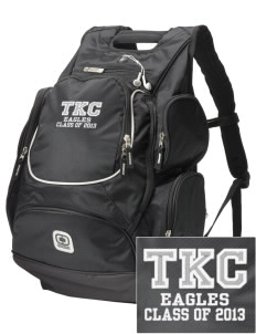 The King's Christian Academy Eagles  Embroidered OGIO Bounty Hunter Backpack
