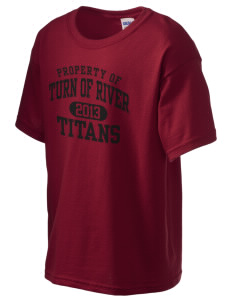 Turn Of River Middle School Titans Kid's 6.1 oz Ultra Cotton T-Shirt