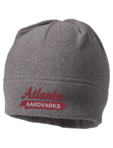 Atlanta Adventist Academy Aardvarks Embroidered Fleece Beanie