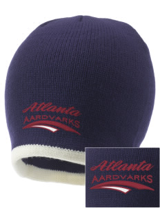 Atlanta Adventist Academy Aardvarks Embroidered Knit Cap