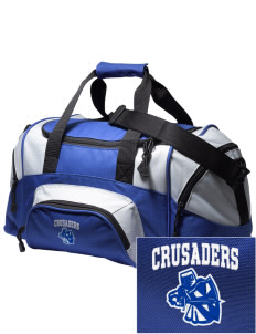 Kaimuki Christian Lower School Crusaders Embroidered Small Colorblock Duffel