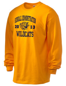 Kendall Demonstration Elementary School Wildcats 6.1 oz Ultra Cotton Long-Sleeve T-Shirt