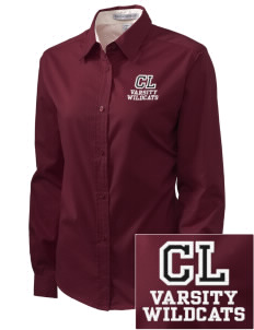 Calvary Lutheran School Wildcats Embroidered Women's Easy-Care Shirt