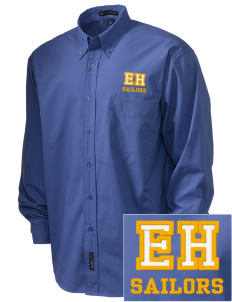 Edmonds Homeschool Resource Center Sailors  Embroidered Men's Easy Care, Soil Resistant Shirt