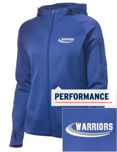 Calvary Murrieta Warriors Embroidered Women's Tech Fleece Full-Zip Hooded Jacket