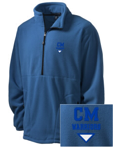 Calvary Murrieta Warriors Embroidered Men's Wintercept Fleece Quarter-Zip Jacket