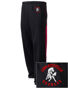 Lind-Ritzville Broncos Embroidered Holloway Men's Pivot Warm Up Pants