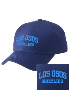 Los Osos Grizzlies  Embroidered New Era Adjustable Structured Cap