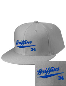 Monsignor Donovan High School Griffins Embroidered Diamond Series Fitted Cap