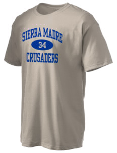 Sierra Madre Academy Crusaders Hanes Men's 6 oz Tagless T-shirt