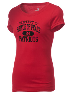 Prince Of Peace Lutheran School Patriots Holloway Women's Groove T-Shirt