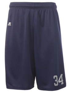"New Age Academy Learning Institute Dragons  Russell Deluxe Mesh Shorts, 10"" Inseam"