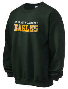 Berean Academy Eagles Ultra Blend 50/50 Crewneck Sweatshirt