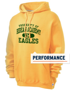 Berean Academy Eagles Russell Men's Dri-Power Hooded Sweatshirt