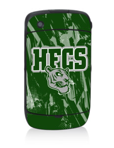 Hudson Falls Central School Tigers Black Berry 8530 Curve Skin