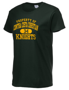 Contra Costa Christian Academy Knights Women's 6.1 oz Ultra Cotton T-Shirt