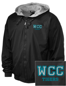 Willow Creek Christian School Tigers Embroidered Holloway Men's Hooded Jacket