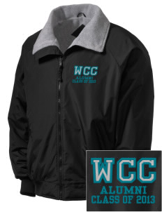 Willow Creek Christian School Tigers Embroidered Men's Fleece-Lined Jacket