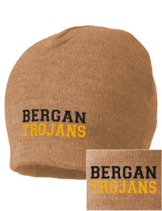 Bergan High School Trojans Embroidered Beanie
