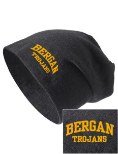 Bergan High School Trojans Embroidered Slouch Beanie