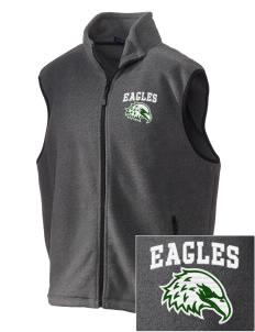 Saint John Lutheran School Eagles Embroidered Unisex Wintercept Fleece Vest