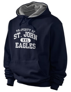 Saint John Lutheran School Eagles Champion Men's Hooded Sweatshirt