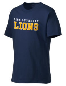 Zion Lutheran School Lions Kid's Lightweight T-Shirt
