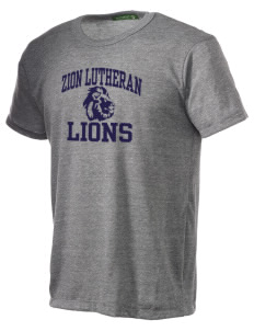 Zion Lutheran School Lions Alternative Men's Eco Heather T-shirt