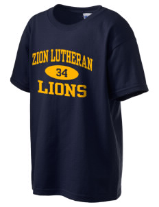 Zion Lutheran School Lions Kid's 6.1 oz Ultra Cotton T-Shirt