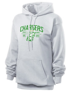Christ Lutheran School Chargers Unisex 7.8 oz Lightweight Hooded Sweatshirt