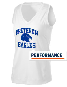 Brethren Elementary School Eagles Women's Performance Fitness Tank
