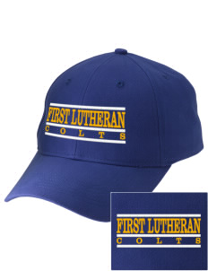 First Lutheran School Colts Embroidered Low-Profile Cap