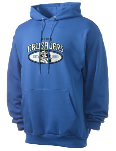 Holy Cross Crusaders Men's 7.8 oz Lightweight Hooded Sweatshirt