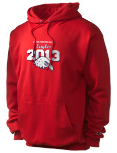 Sonrise Christian School Eagles Champion Men's Hooded Sweatshirt