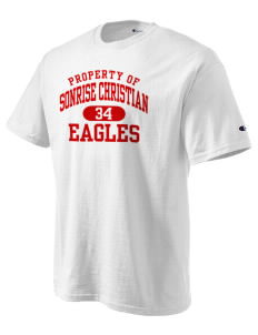 Sonrise Christian School Eagles Champion Men's Tagless T-Shirt