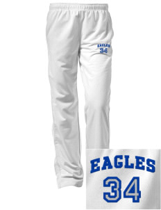 New Life Academy Eagles Embroidered Women's Tricot Track Pants