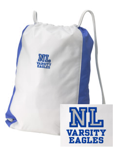 New Life Academy Eagles Embroidered Holloway Home and Away Cinch Bag