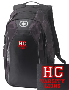 Hilltop Christian School Lions Embroidered OGIO Marshall Backpack