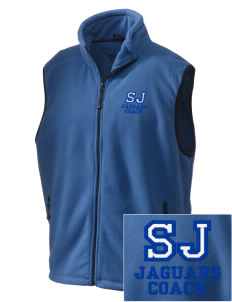 St Joseph School Jaguars Embroidered Unisex Wintercept Fleece Vest