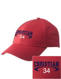 Christian Senior High School Patriots  Embroidered New Era Adjustable Structured Cap