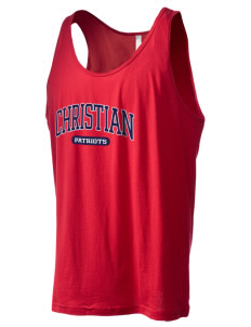 Christian Senior High School Patriots Men's Jersey Tank
