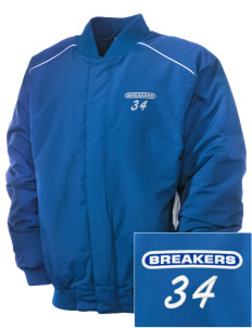 Beautiful Savior Lutheran School Breakers Embroidered Russell Men's Baseball Jacket