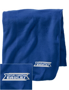 Century Christian School Eagles Embroidered Holloway Stadium Fleece Blanket