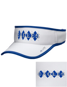 Century Christian School Eagles Embroidered Lite Series Active Visor