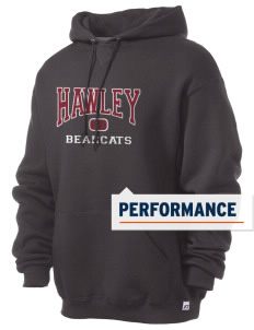 Hawley Middle School Bearcats Russell Men's Dri-Power Hooded Sweatshirt