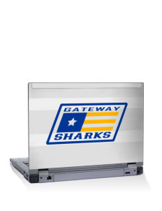 "Gateway Elementary School Sharks 14"" Laptop Skin"