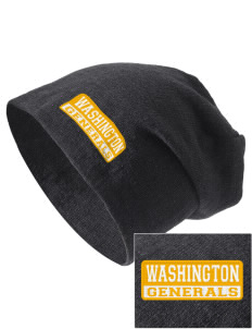 Washington School Generals Embroidered Slouch Beanie