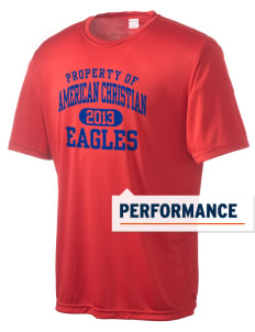American Christian School Eagles Men's Competitor Performance T-Shirt