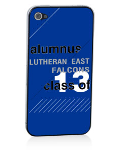 Lutheran High School East Falcons Apple iPhone 4/4S Skin